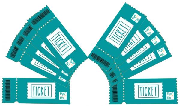 Carnets de 10 tickets Dys'Up