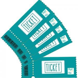 Carnets de 5 tickets Dys'Up